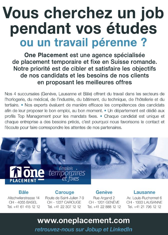 oneplacement ch geneve